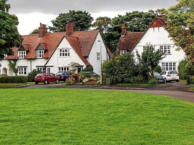 """Et eksempel på en såkaldt """"haveby"""": Letchworth i England.  ?Privatfoto"""