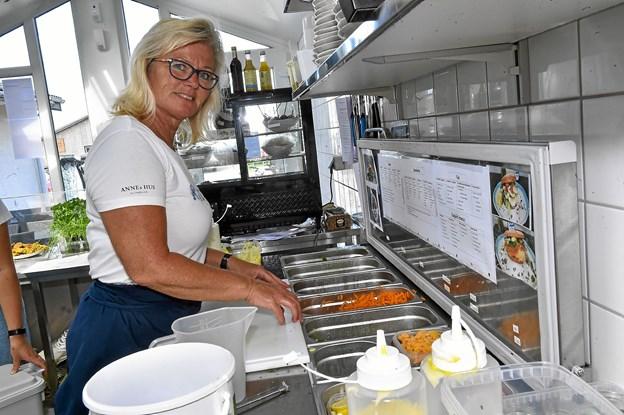 Lisbeth Kappel har tidligere arbejdet i Madværkstedet og hos Gårdmad. Foto: Ole Iversen