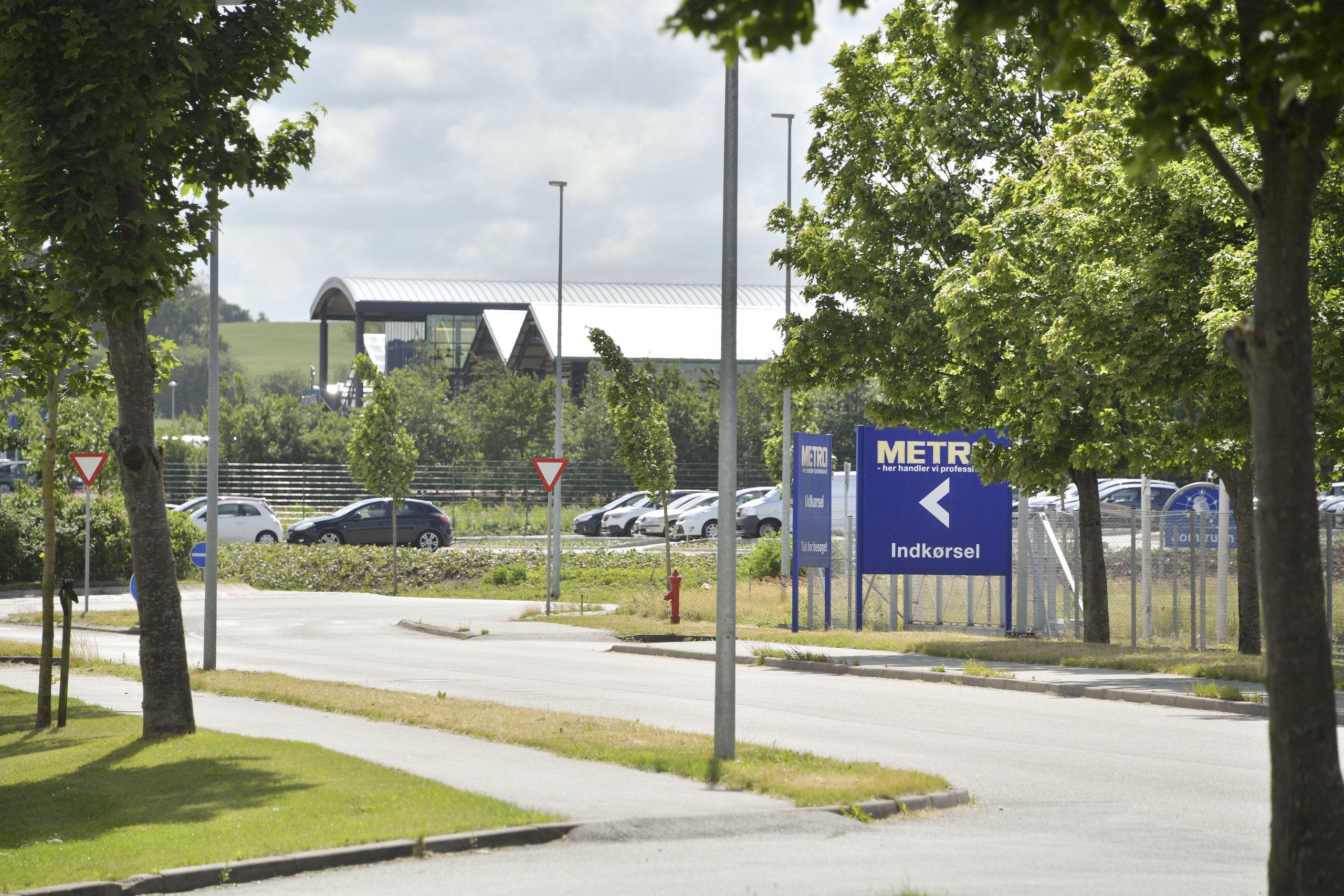 Det store oplevelsescenter rykker ind i den tidligere Metro-bygning. Arkivfoto: Claus Søndberg