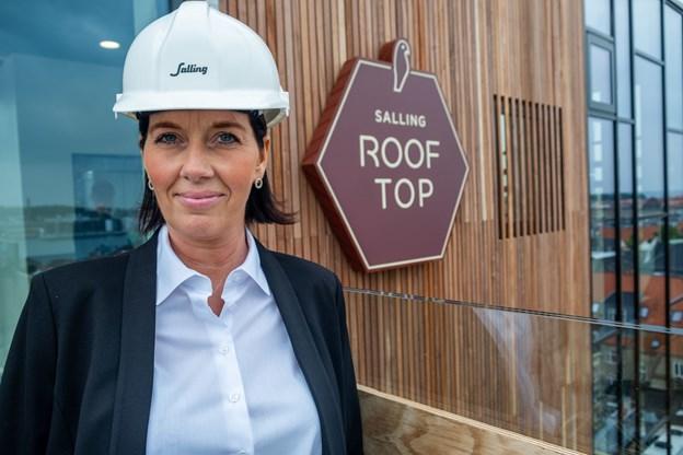 Camilla Mortensen oplever Aalborg som en by med masser af muligheder og tilbud.