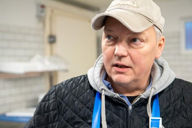 Claus Høeg: Torsk er en særdeles delikat spise, men i dag sælger vi mest fileteret fisk. Foto: Kim Dahl Hansen Foto: Kim Dahl Hansen