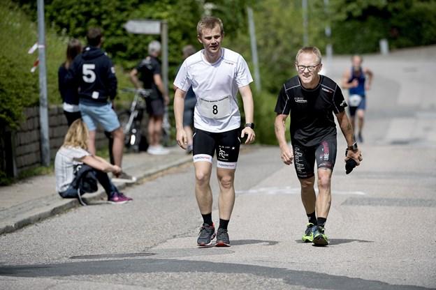 Aalborg Brutal Marathon er et af de hårdeste maraton-løb i landet i det kuperede terræn ved Mølleparken. Arkivfoto: Lars Pauli