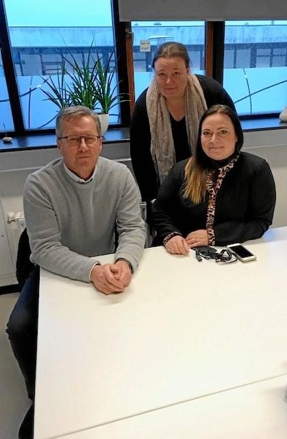 John Karlsson, Vivi Beyer Vendelbo og Mia Nikolaisen står bag Projekt Efterværn. (Foto Jesper Larsen).