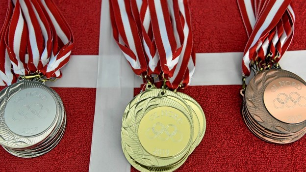Medaljerne er klar til uddeling. Foto: Niels Helver Niels Helver