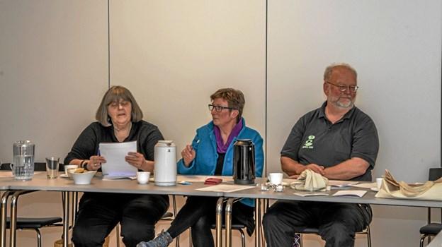 En ny forening med nye muligheder for samarbejde med kunst i Løgstør og Omegn. Foto: Mogens Lynge Mogens Lynge