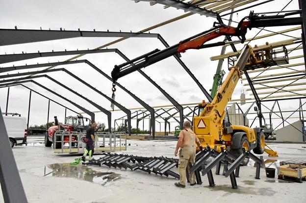 Thisted Kommune er den hurtigste kommune i Nordjylland til at behandle en byggetilladelse - ifølge analyse fra Dansk Byggeri. Arkivfoto