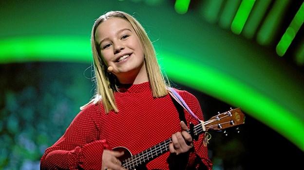 """Til Mosbjerg Børnefestival kommer Mille, der sidste år vandt børnenes Melodi Grand Prix, MGP, med sangen """"Til næste år"""". Foto: Privatfoto"""