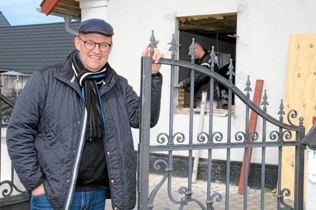 Palle Holmbech overtager Skolevej 50 i Pandrup til efteråret. Foto: Flemming Dahl Jensen