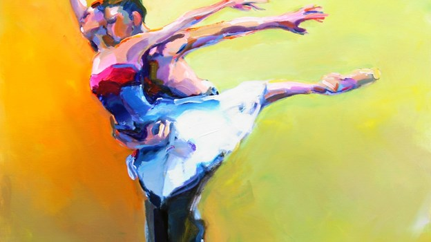 Lisbeth Ellinor har været fast kunstner hos Galleri Uggerby siden 1993.