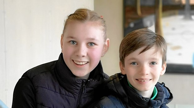 Laura Dollerup og Wendell Hansson-Östergaard