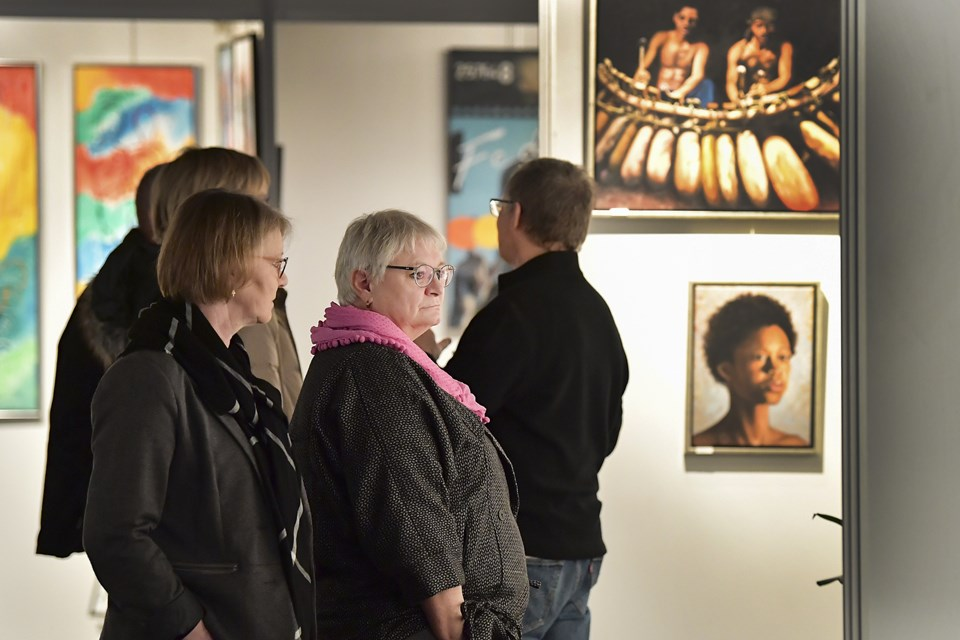 Tidens Kunst afvikles i år for 14. gang i Messecenter Vesthimmerland, og igen i 2019 håber arrangørerne på, at omkring 1500 interesserede vil besøge udstillingen. Arkivfoto