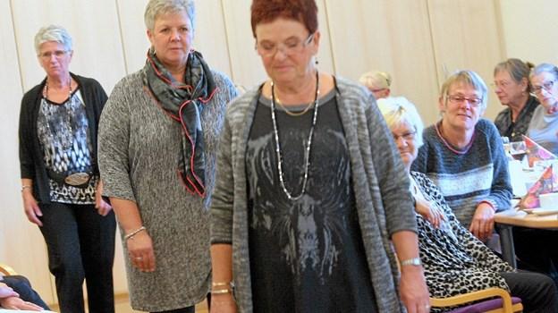 5. marts er der modeopvisning i Hou Borgerhus. Foto: Allan Mortensen