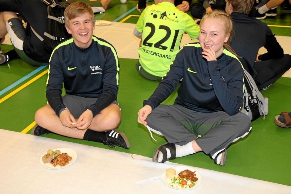 Aabybro Efterskole var også med. Flemming Dahl Jensen
