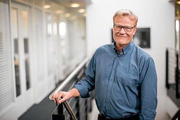 Rektor Anders Graae Rasmussen, Dania, glæder sig over, at Erhvervsakademi Dania med Campus i Hobro har fået en positiv institutionsakkreditering. Privatfoto