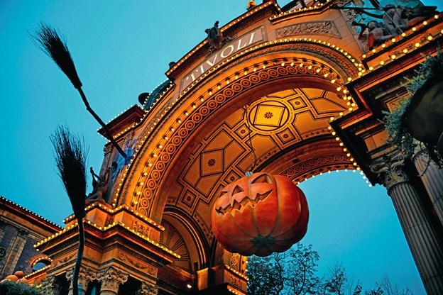 I Tivoli fejres der Halloween fra 13. oktober - 5. november. Privatfoto.