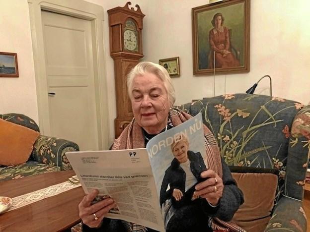 Karin Arvechoug Jensen kan i det fællesnordiske jubilæumsår glæde sig over stor medlemsfremgang til den aktive lokalforening