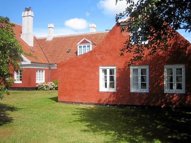 En af Plesners mere komplicerede opgaver i Skagen var arbejdet med at knytte en ny atelierbygning sammen med det gamle længehus, der tilhørte Michael og Anna Ancher. Løsningen var genial. LOKALHISTORISK ARKIV SKAGEN