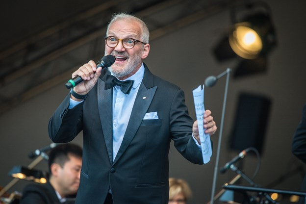 Preben Kristensen er også konferencier ved Opera i Rebild 2019. Arkivfoto: Martin Damgård Martin Damgård