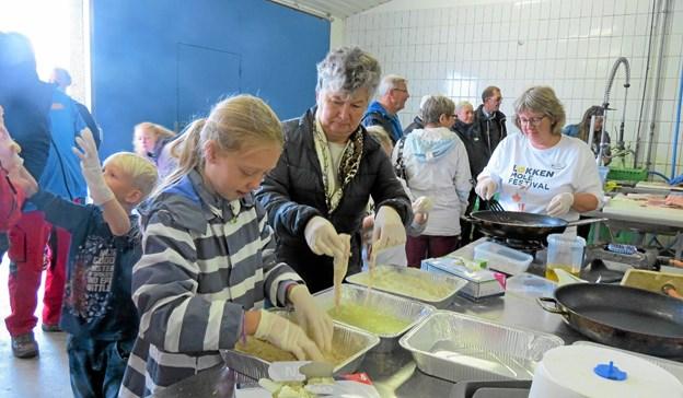 Løkken Molefestival med dens mange aktiviteter var et af de arrangementer, som Feriepartner Løkken gav støtte til sidste år. Foto: Arkivfoto