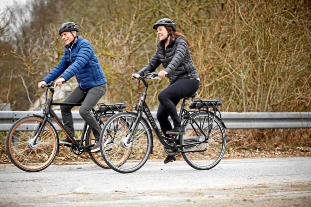 Flere cykler efteråret i møde. PR-foto