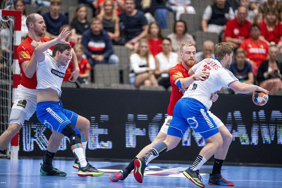 Håndbold, Danmark-FærøerneFoto Lars Pauli / Nordjyske Medier