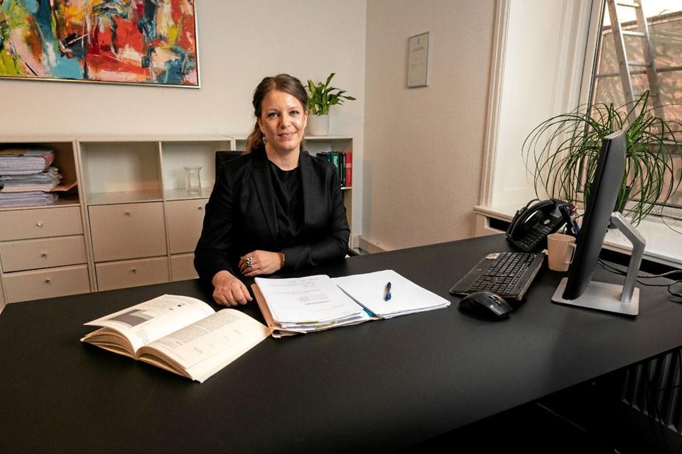 Louise Kassentoft Windfeld bor i Thy og har pendlet med toget de seneste tre år til Aarhus. Privatfoto Ole Iversen