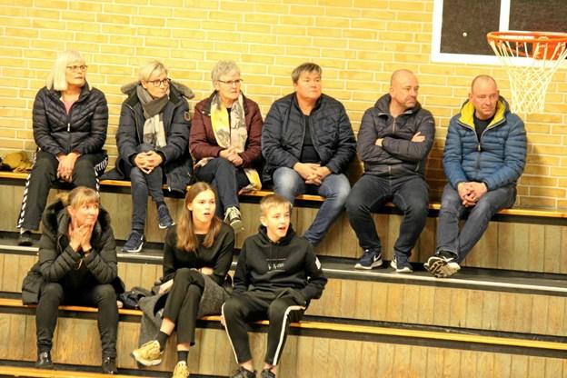 En del af de godt 20 tilskuere fra Nørhalne. Foto: Flemming Dahl Jensen Flemming Dahl Jensen