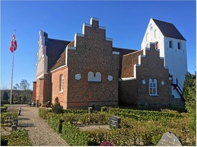 Visborg Kirke og FDF invitere til Kirkedag for alle fredag 12. oktober. Foto: privat.