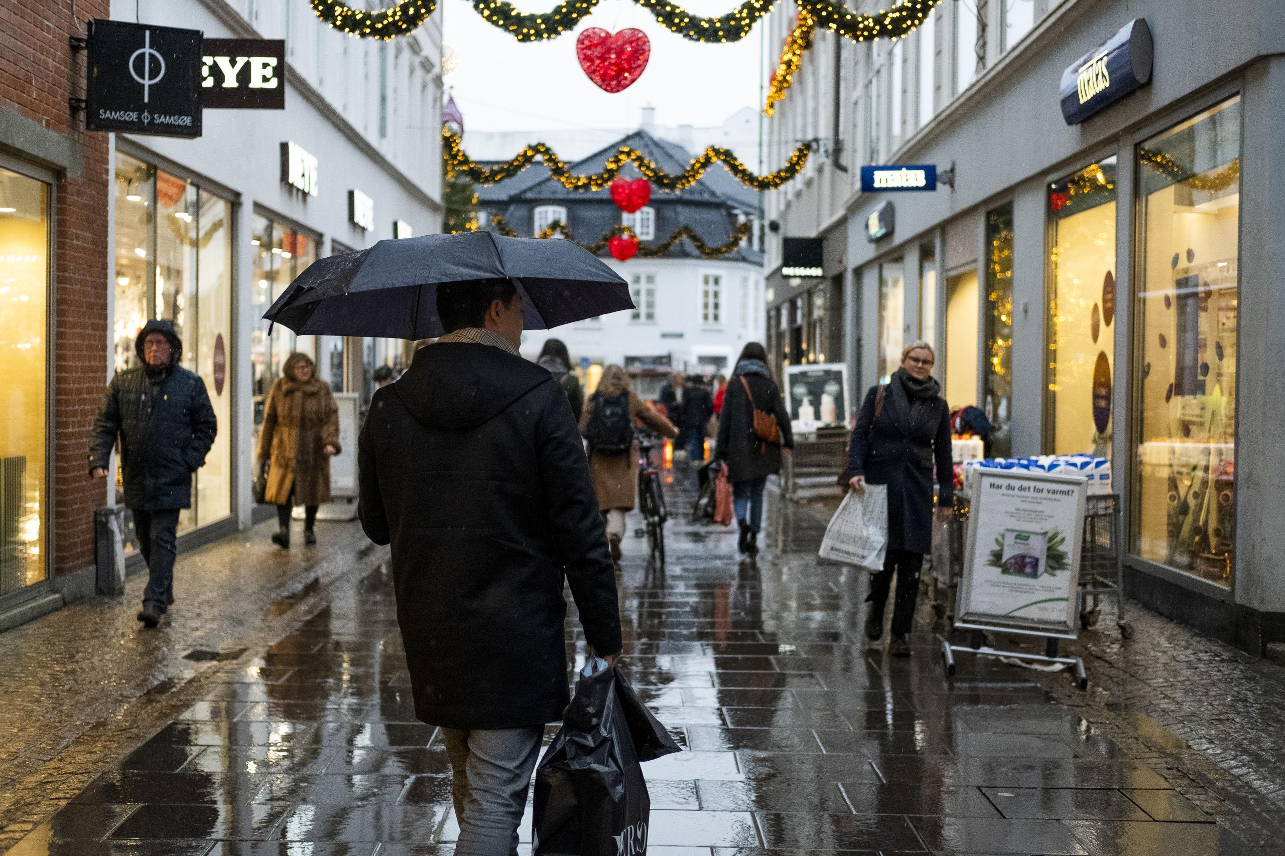 Kom tørskoet frem: Lån en paraply - helt gratis