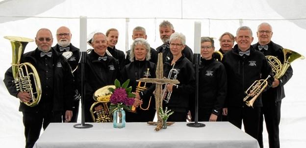 Brass Ensemble Sæby. Privatfoto.