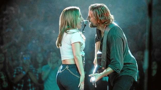 Lady Gaga og Bradley Cooper kan opleves i Pandrup Kno.Pressefoto