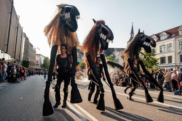 De fantastiske heste fra Spanien.Foto: Lasse Sand