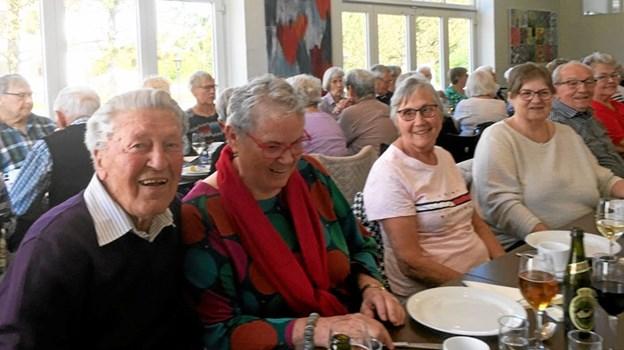 49 deltagere var med på turen, hvor Hotel Tannisbugt dannede ramme om spisning. Privatfoto