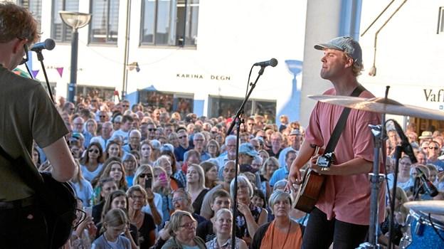 Hjalmer vender tilbage til Blokhus, hvor han var i fjor. Arkivfoto: Poul Nymark