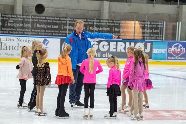 Skøjtecamp'en er starten på den nye sæson.Foto: Kim Dahl Hansen