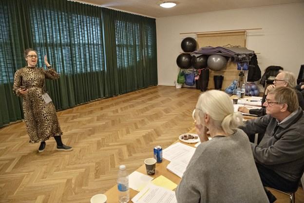 Knap 60 havde meldt sig til audition på Vendelbohus.Foto: Kurt Bering