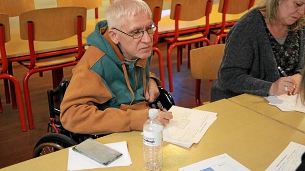 Peter Klitgaard deltog også i mødet og kom med gode ideer. Flemming Dahl Jensen
