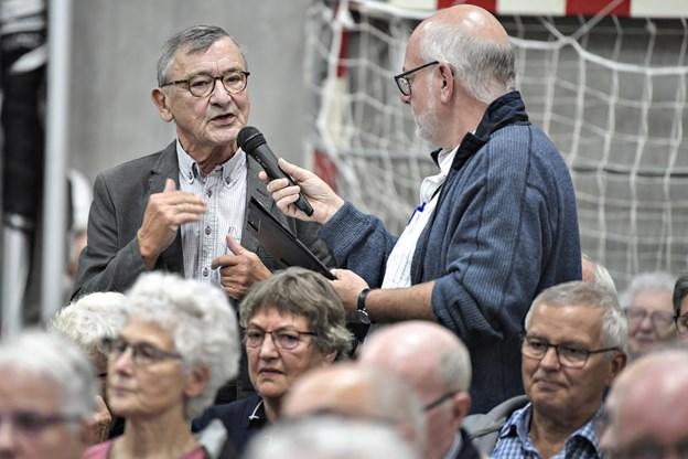Knud Størup deltager stadig i aktuelle debatter, selv om han har forladt det politiske arbejde.Arkivfoto: Bent Bach