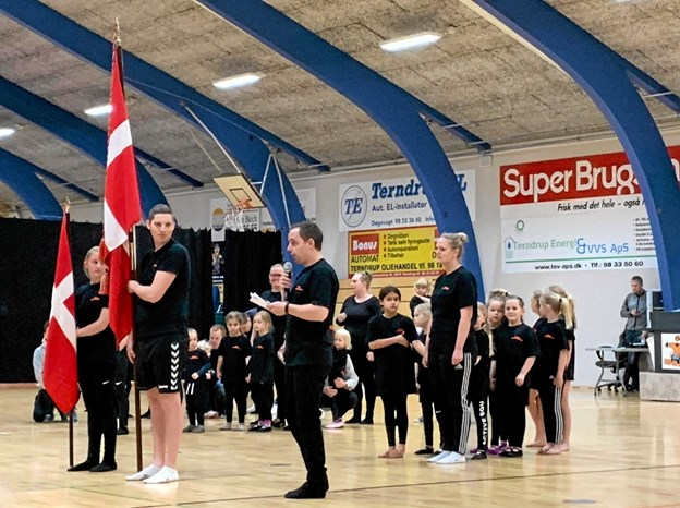 Terndrup Gymnastikforening har masser af energi og idéer, men mangler trænere til børneholdene. Foto: Privat