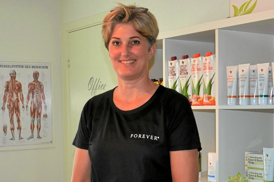Cristina Klastrup samler ind til Diabetesforeningen. Foto: Jesper Bøss Jesper Bøss