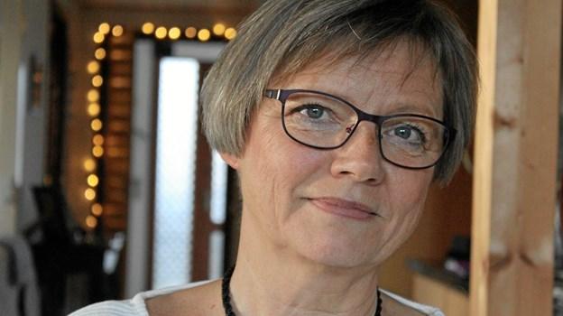 Rita Knudsen - holder foredrag i Bindslev Sognehus   Arkivfoto