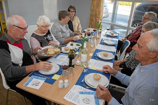 """I Elling er der """"Danmark Spiser Sammen"""" den 7. november. Foto: Jørgen Anker"""
