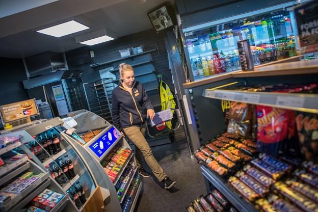 Aalborgenserne kan fra 12. oktober hente deres post i Q8-butikken. Foto: Martin Damgård