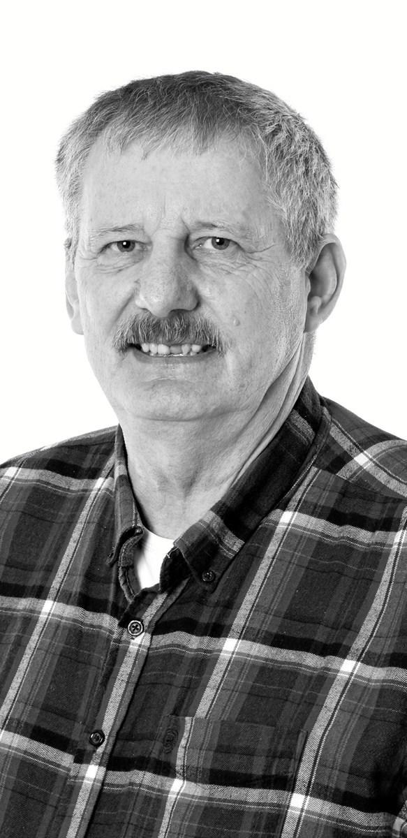 Leo Bjørn Jensen fejrer 25 års jubilæum hos Frode Laursen. ?Privatfoto
