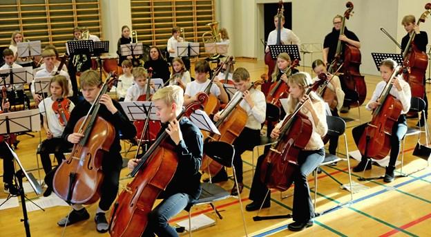 Koncerten søndag på Støvring Gymnasium blev overværet af ca. 200 gæster.