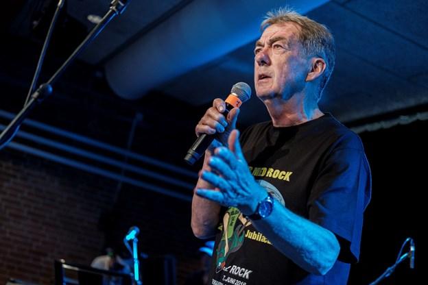 Eådmand Jørgen Hein åbnede festivalen. Foto: Lasse Sand