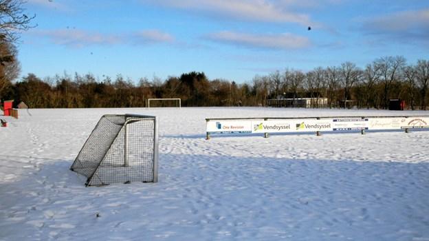 Fodbolden er i gang igen i Moseby Boldklub. Foto: Flemming Dahl Jensen