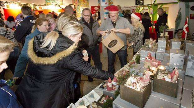 Der er julerier for enhver smag som her nisser fra Den gamle Butik. Arkivfoto