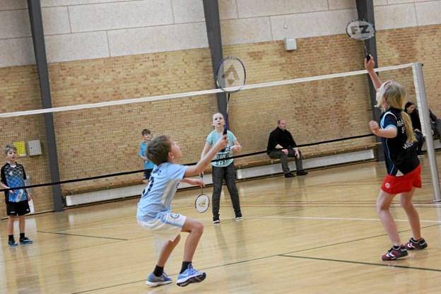 Der spilles masser af badminton i weekenden. Foot: Flemming Dahl Jensen