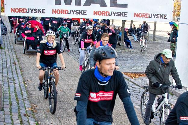 Så gik starten til psykelløbet. Foto: Kim Dahl Hansen